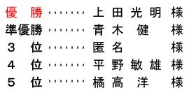<br /> 平成28年4月9日(土) 土曜杯(株)榊原滉洋園杯