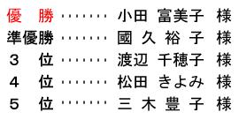 <br /> 平成 28年4月14日(木) レディース杯