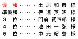 <br /> 平成 28年4月27日(水)  シニア・レディース杯