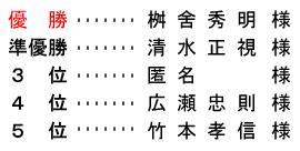 平成 28年11月4日(金) 七寿杯